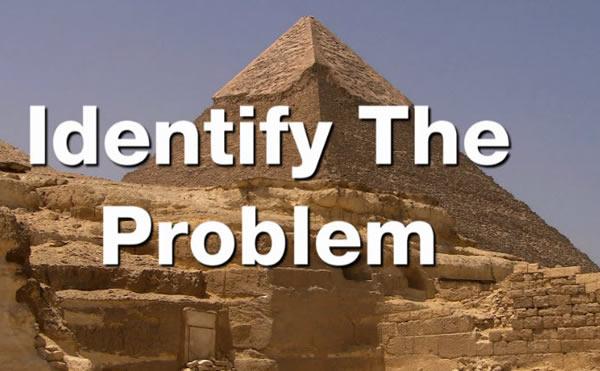 DS TADS Pyramids Identify the Problem