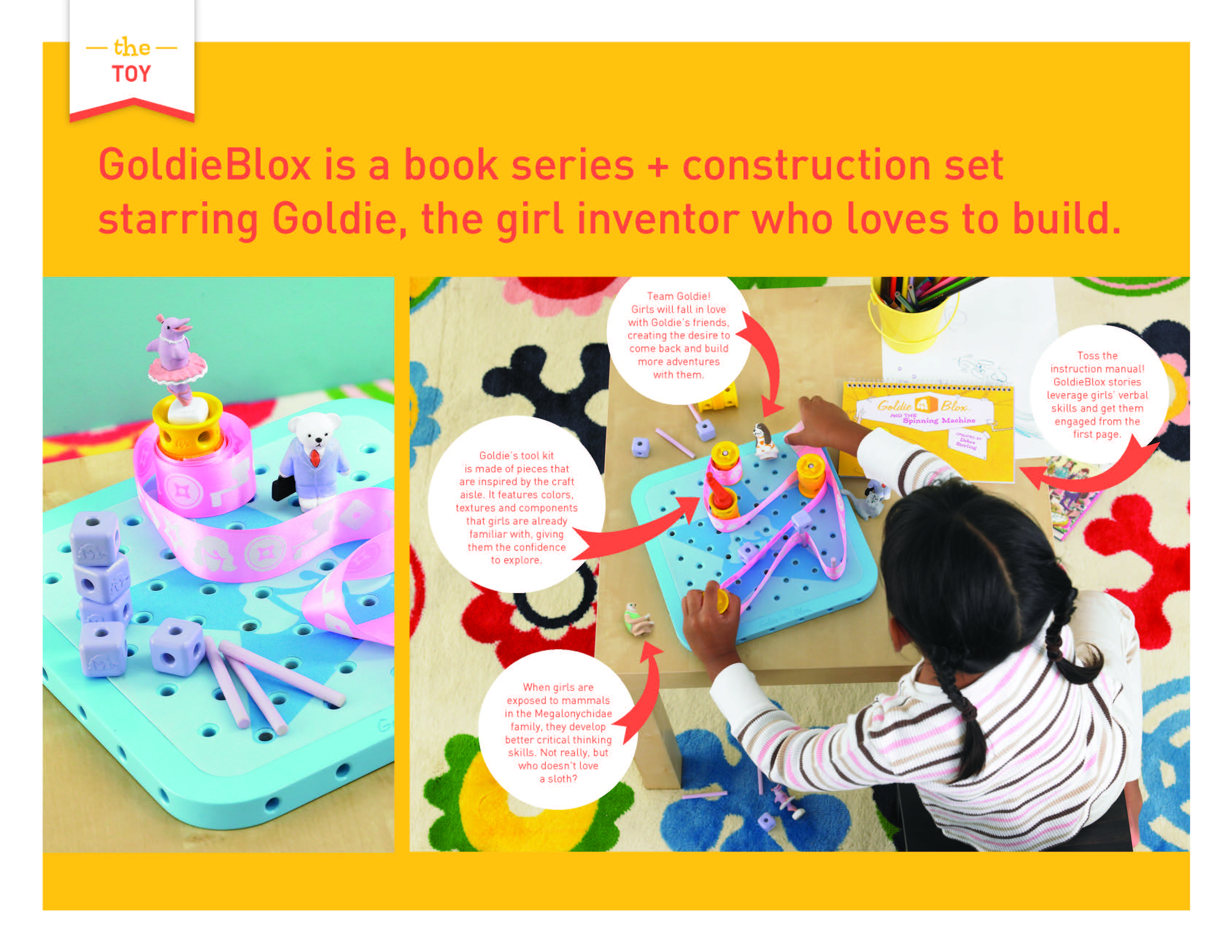 Gol Blox The Magic of Engineering for Little Girls