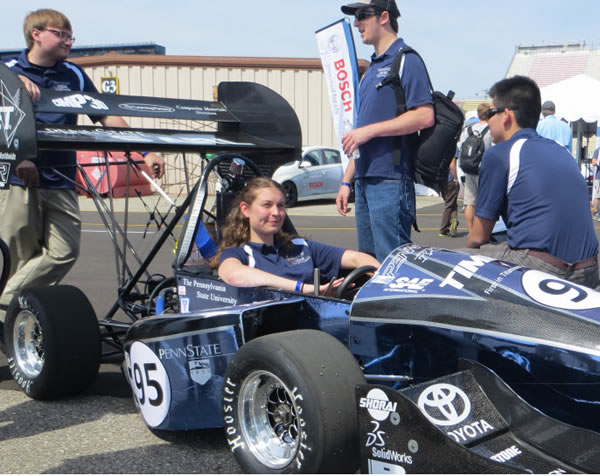 Penn State Racing 2 SolidWorks FSAE 2013