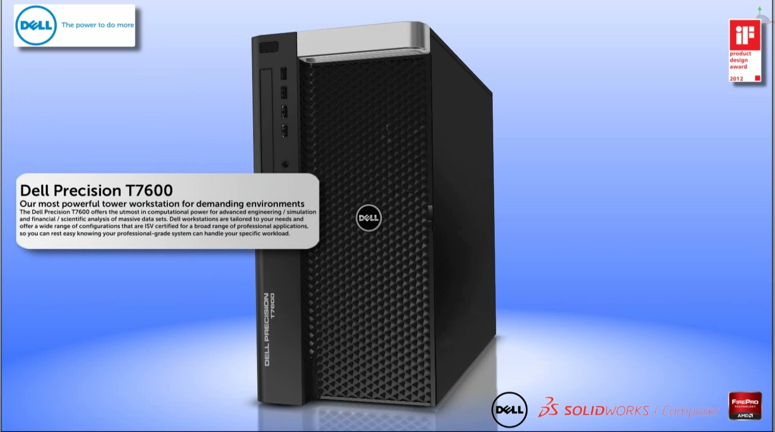 Dell Precision T7600 Product Demo