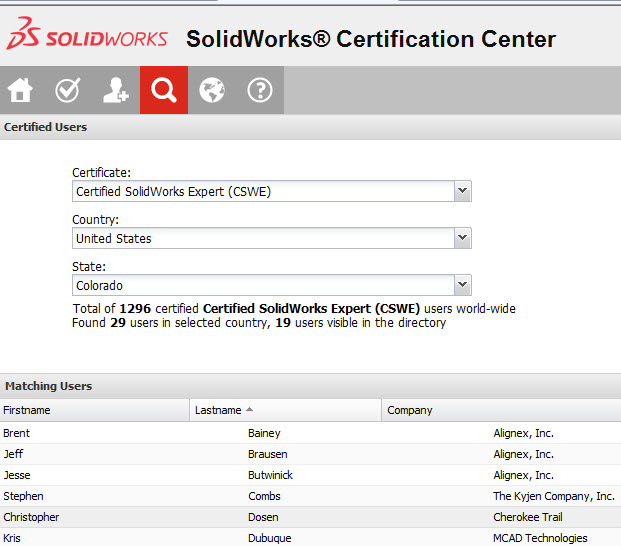 Chris Dosen, Cherokee Trial HS, achieves Certified SolidWorks Expert (CSWE) with a Perfect Score!