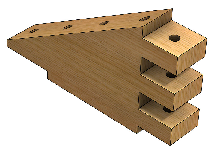 Creating a Log Cabin in SolidWorks – Part 7: Creating the First Type of Roof Support