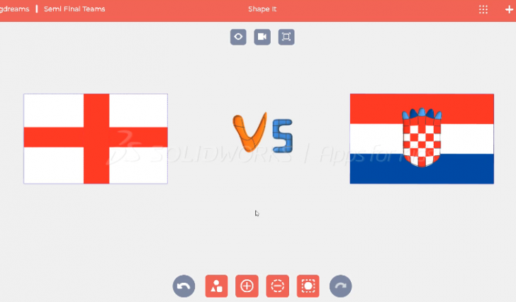 Create World Class World Cup Flags with SOLIDWORKS Apps for Kids