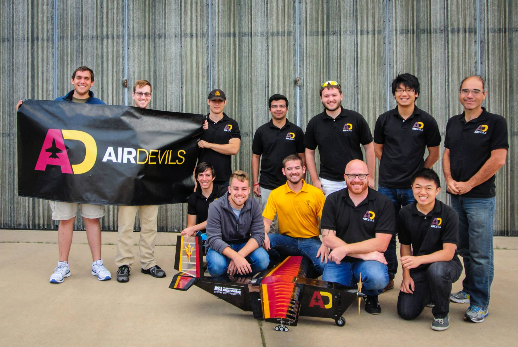 ASU AIAA DBF Team Showcased at SOLIDWORKS WORLD