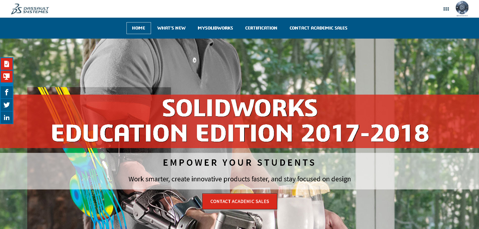 SOLIDWORKS Education Edition 2017-2018