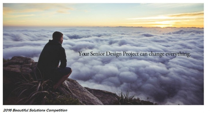 Announcing: Beautiful Solutions Senior Design Project Competition