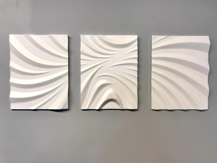 3 Part Artistic CNC Wall Hanging