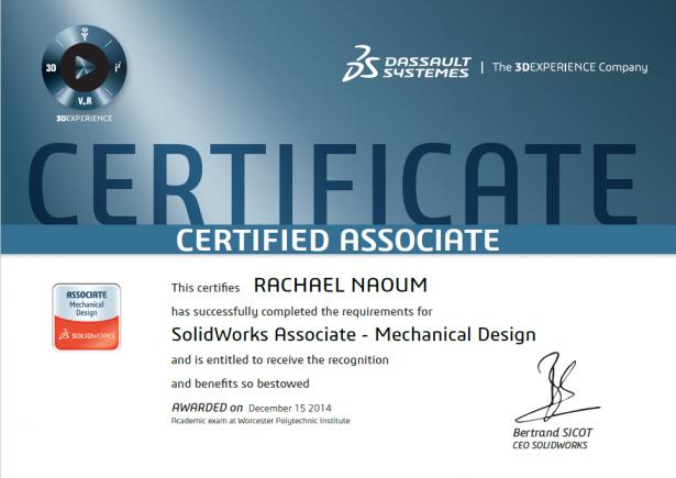 CSWA certificate