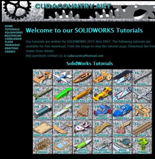 CUDA country SOLIDWORKS tutorials