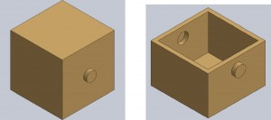 Chamber and Cut Away SolidWorks