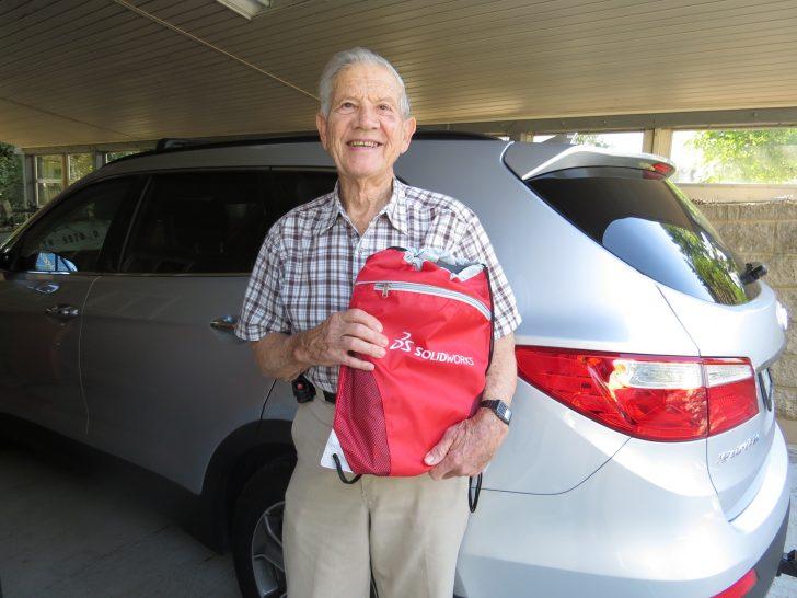Charlie Hahs, US Veteran – Back to School at 86
