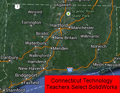 Connecticut Technical High School System Selects SolidWorks to Prepare Students for STEM Workforce