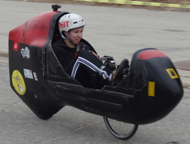 The world's fastest human-powered vehicle just topped 85 mph (update: 86!)