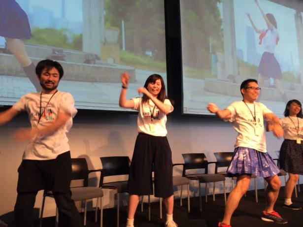 Dancing at Fab11