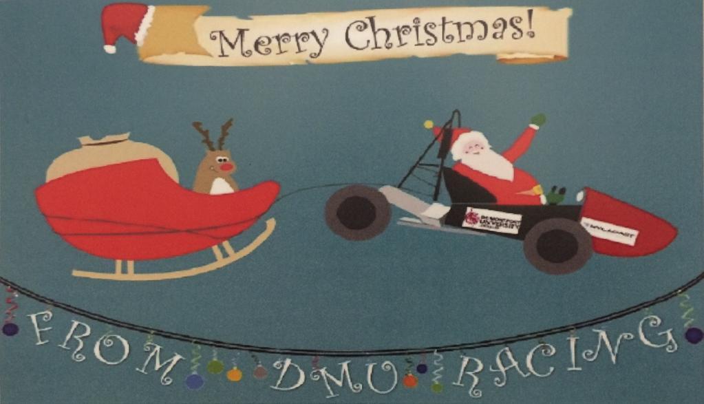 Santa's Sled Driven by Formula Student Car