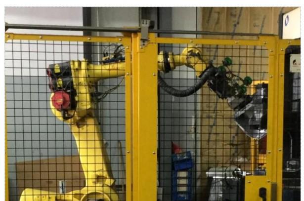 FANUC robot at TMCO