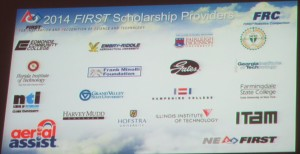 FIRST Scholarships