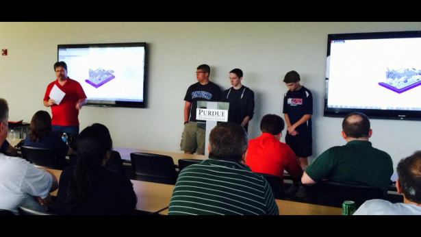 FRC 2783 Present at SolidWorks Users Group Meeting Purdue