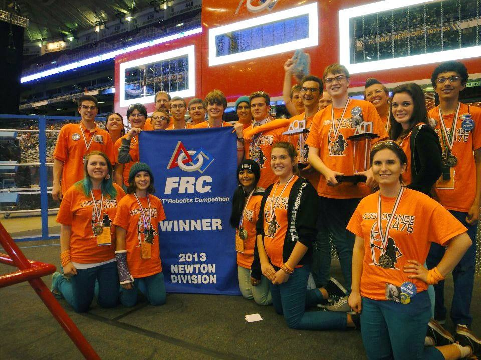 FRC Code Orange SolidWorks World 2014