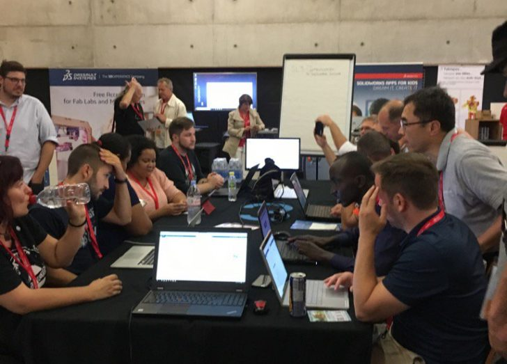 SOLIDWORKS Supports Digital Fabrication at FAB14