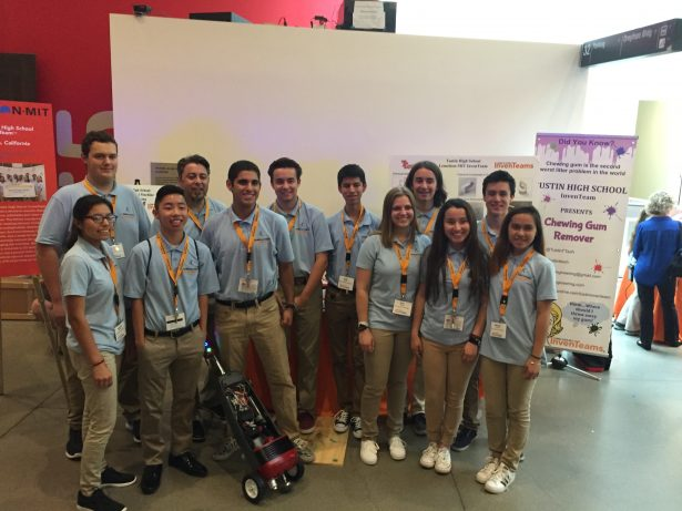 Ed's students at Lemelson-MIT's EurekaFest