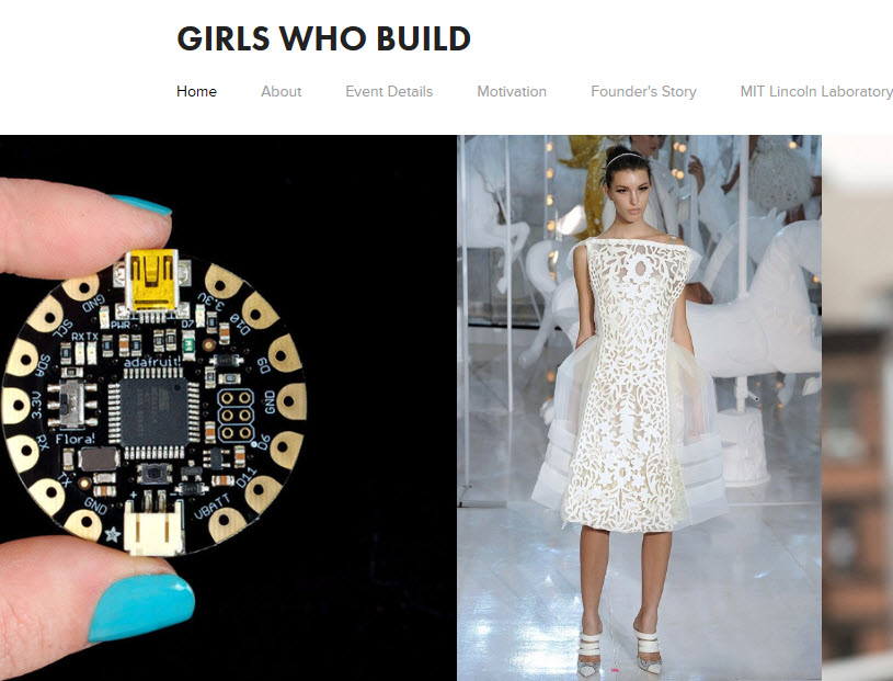 Girls Who Build – Make Your Own Wearables Workshop