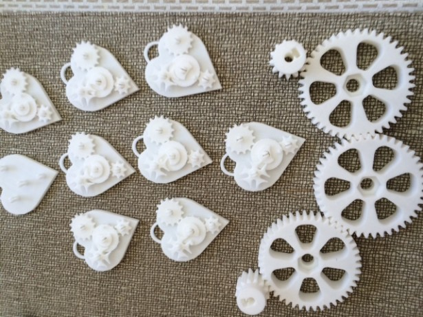 Hearts and Gears from Thinkiverse