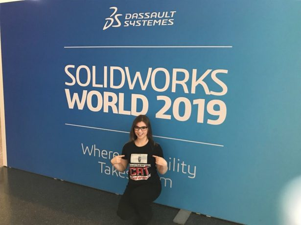 Danielle Boyer at SOLIDWORKS World 2019