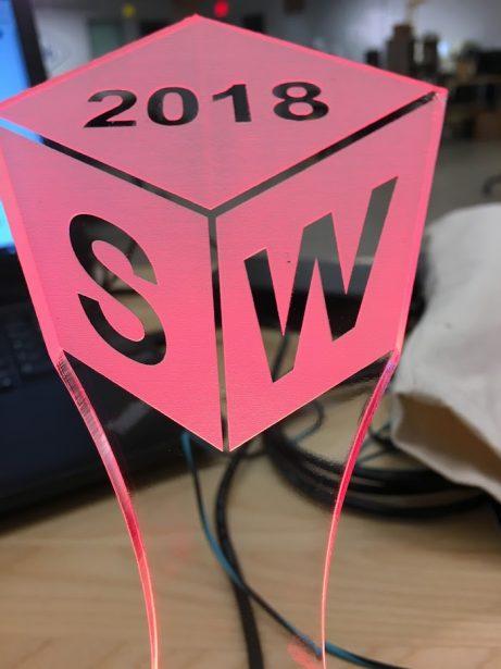 SOLIDWORKS 2018 Cubie