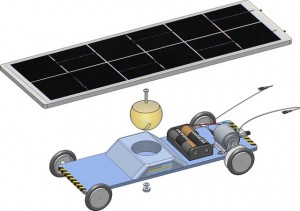 Junior Solar Spint Car SolidWorks Assembly Cuda Country