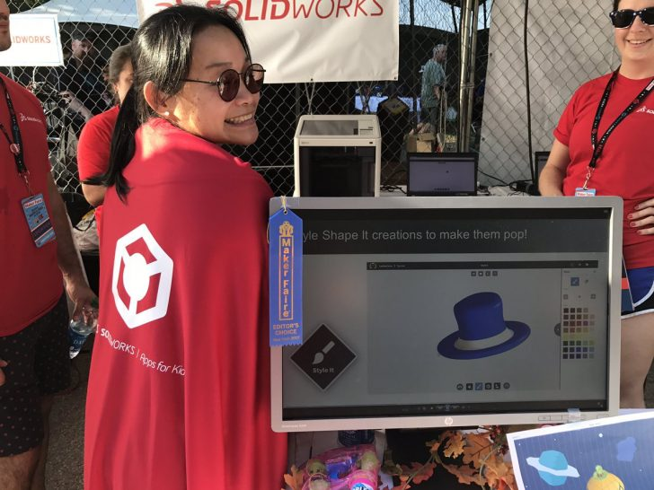 SOLIDWORKS Apps for Kids Wins Editor's Choice Award at NYC Maker Faire