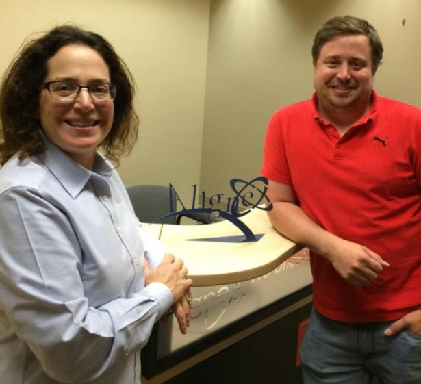 Marie and Josh at Alignex Omaha Office