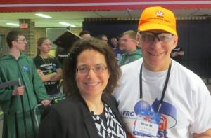Marie with Brad Controls Advisor