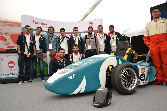 Mansoura Formula Student Team Drives Engineering Success