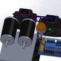 Motors and Battery in SolidWorks