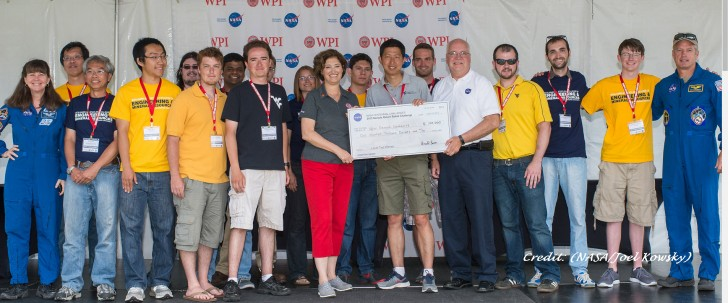 West Virginia University wins NASA Robot Competition