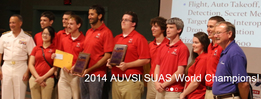NC State Flies High at AUVSI 2014 Aerial Robotics Competition