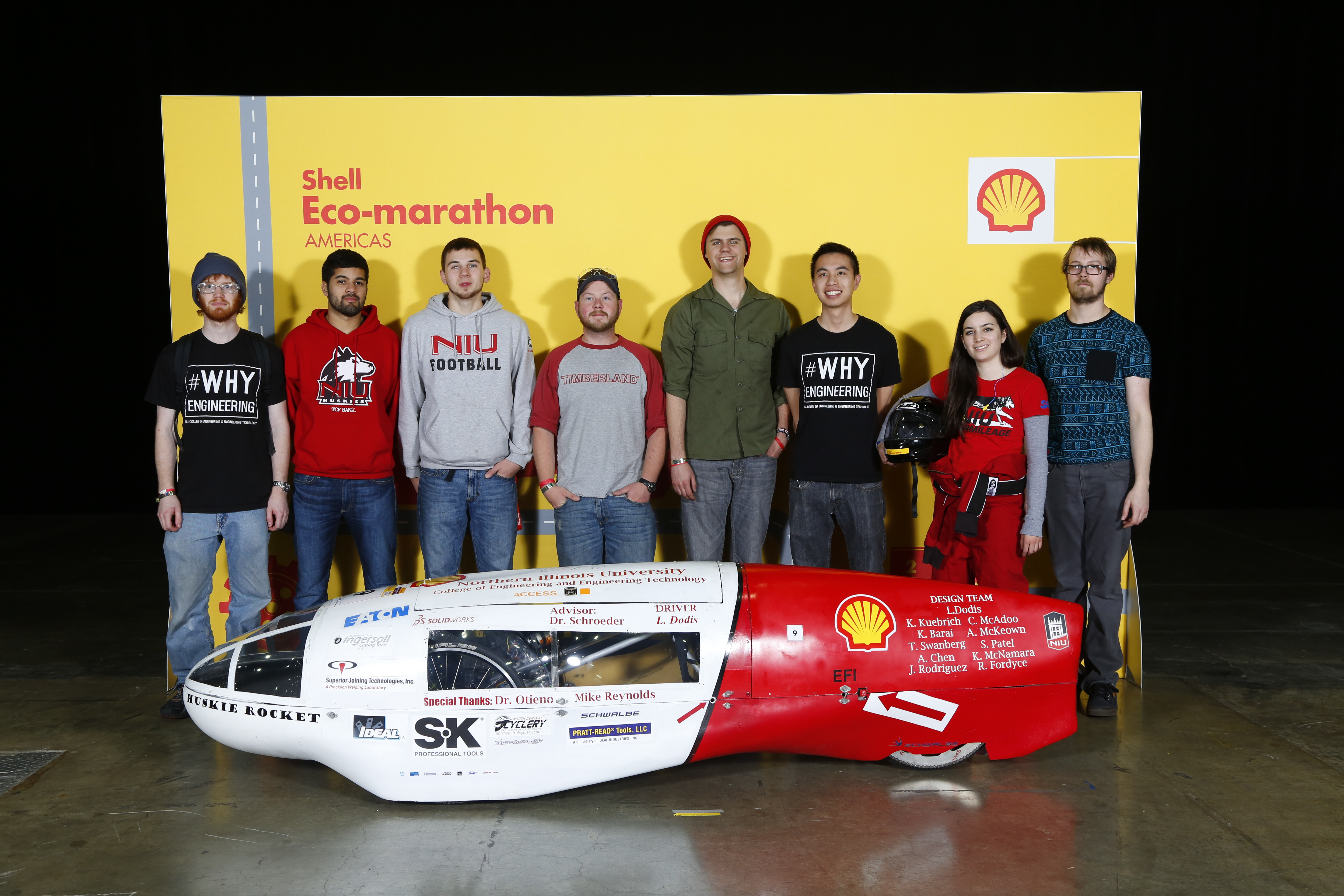 Will Niu Shell Eco Marathon Engineers Exchange Cars With