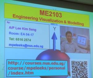 NUS Lee Course Engineering Visualization