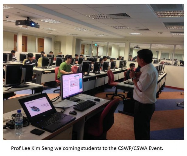 NUS Lee Kim Seng Welcomes CSWP Event