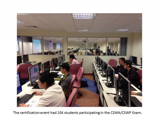 NUS Students SOLIDWORKS Certification Event