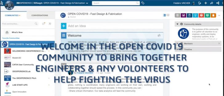 Educators, Students Join the 3DEXPERIENCE Open COVID19 Community
