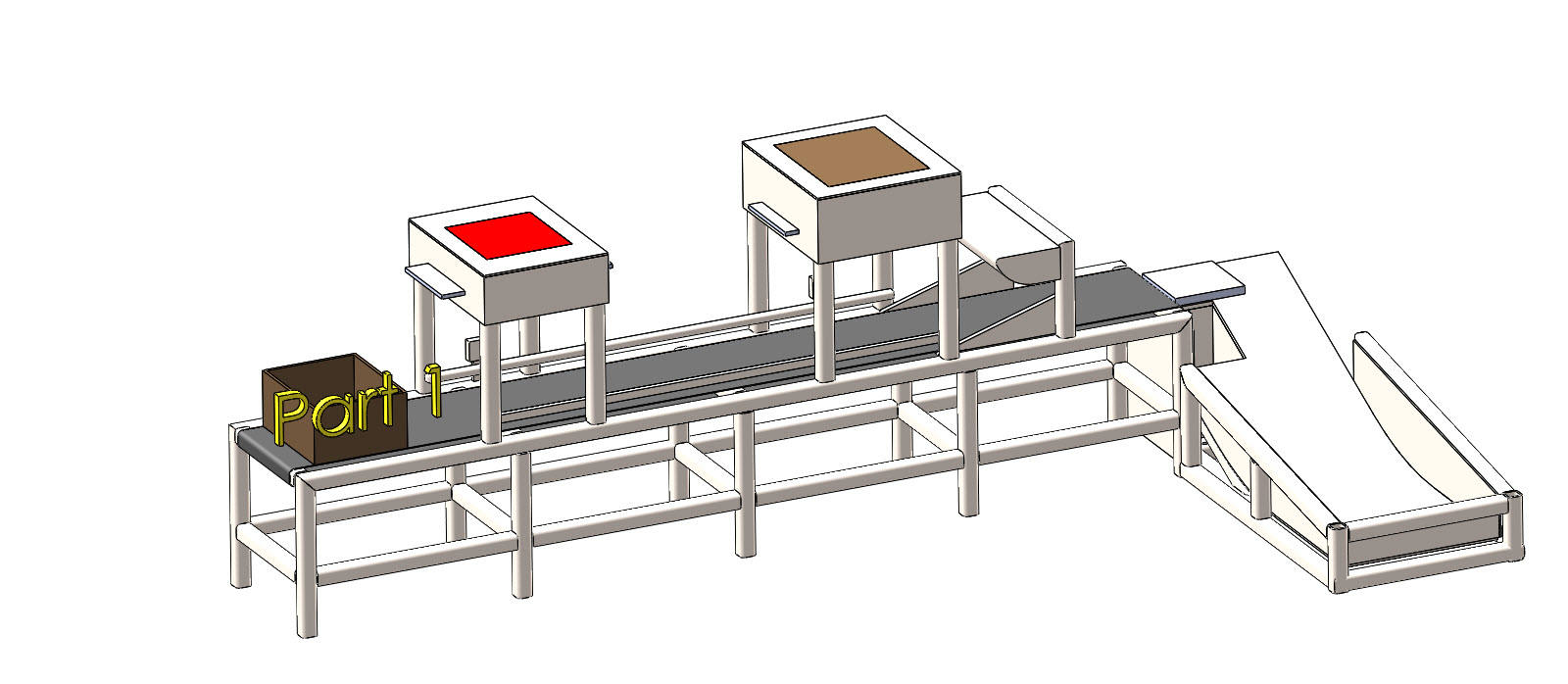 SolidWorks Event-Based Motion: Packaging Machine Part 1