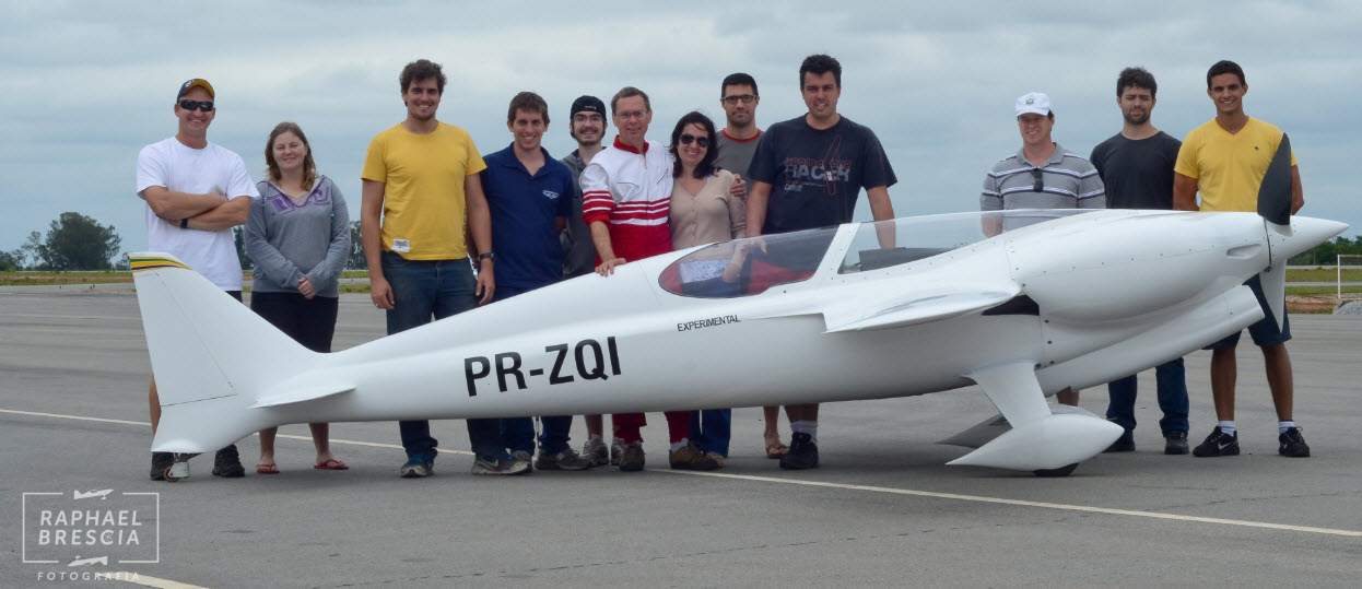 First Flight Brasil Takes Off To Set A World Record