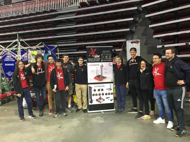 Team 125, NUTRONs, feat. SOLIDWORKS Director of Education and Early Development Marie Planchard