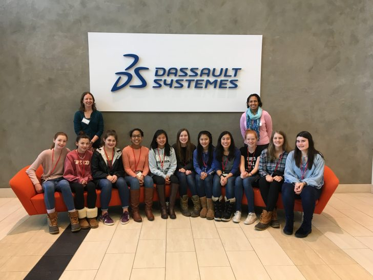 8th Graders from Dana Hall Spend Career Day with SOLIDWORKS