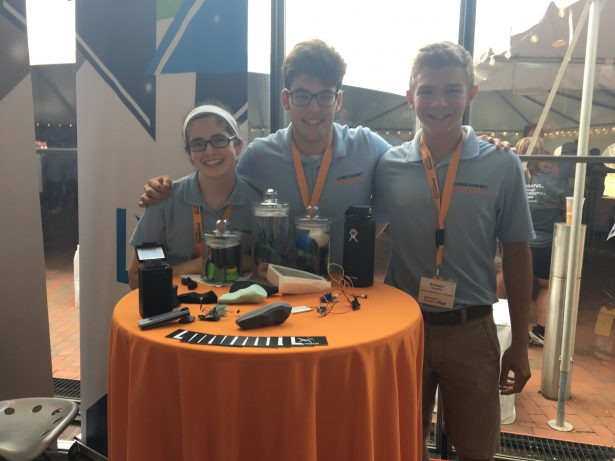 Fairview High School students utilized SOLIDWORKS to design and prototype their invention, which allows doctors to listen to heartbeats via Bluetooth and prevents the spread of diseases