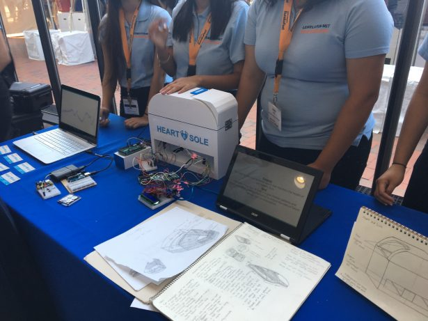 The Garey High School InvenTeam created Heart & Sole, a device to monitor the health of the diabetic foot to prevent the risk of future damages, including amputation.