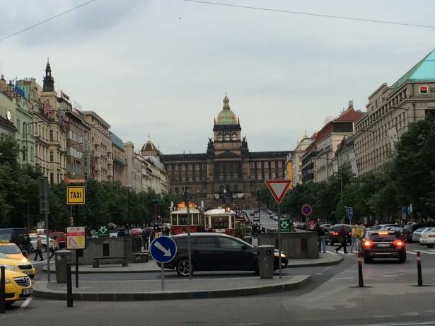 Prague  wenceslas square SolidWorks Teacher Blog