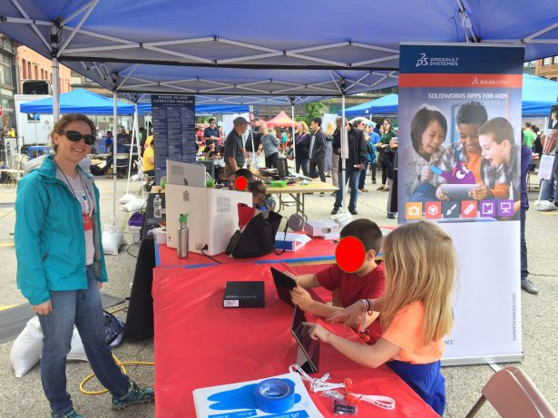 Apps for Kids at the Maker Faire